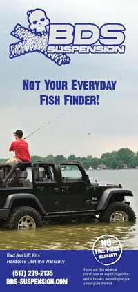 BDS Suspension | Not your everyday fish finder