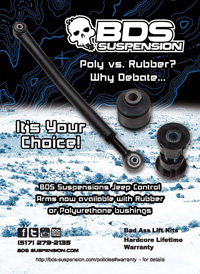 BDS Suspension | Poly vs. Rubber
