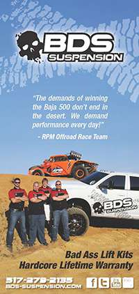 BDS Suspension | RPM Offroad Race Team