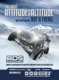 BDS Suspension | The right attitude for the altitude