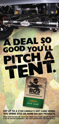 A Deal So Good You'll Pitch a Tent Ad