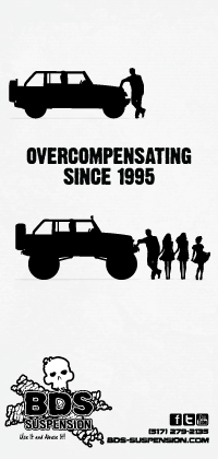 Overcompensating since 1995