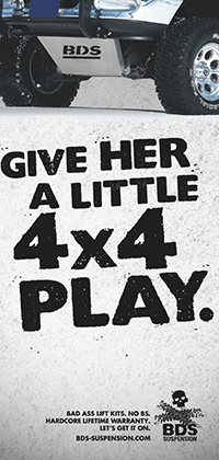 Give Her a Little 4x4 Play ad as seen in JP Magazine June 2010