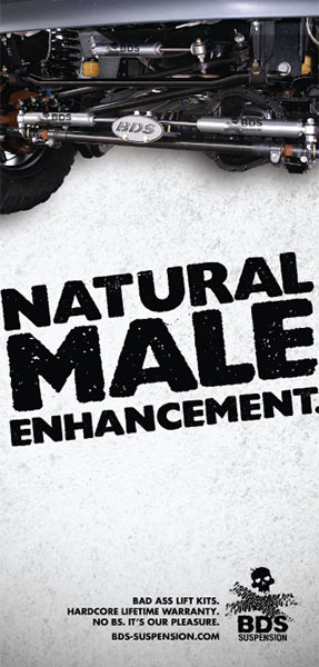 Natural male Enhancement magazine ad