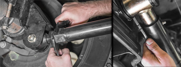 RECOIL Traction Bar Installation