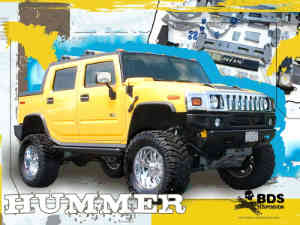 Free Hummer Off Road Desktop Wallpaper