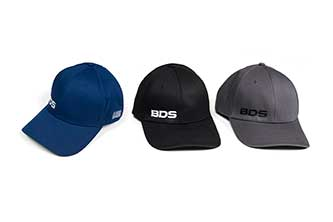 BDS Flexfit Black Hat - (S-M)
