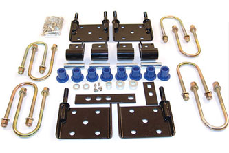 Basic YJ Spring Coversion Kit