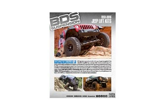 BDS Product Flyers | All Jeep