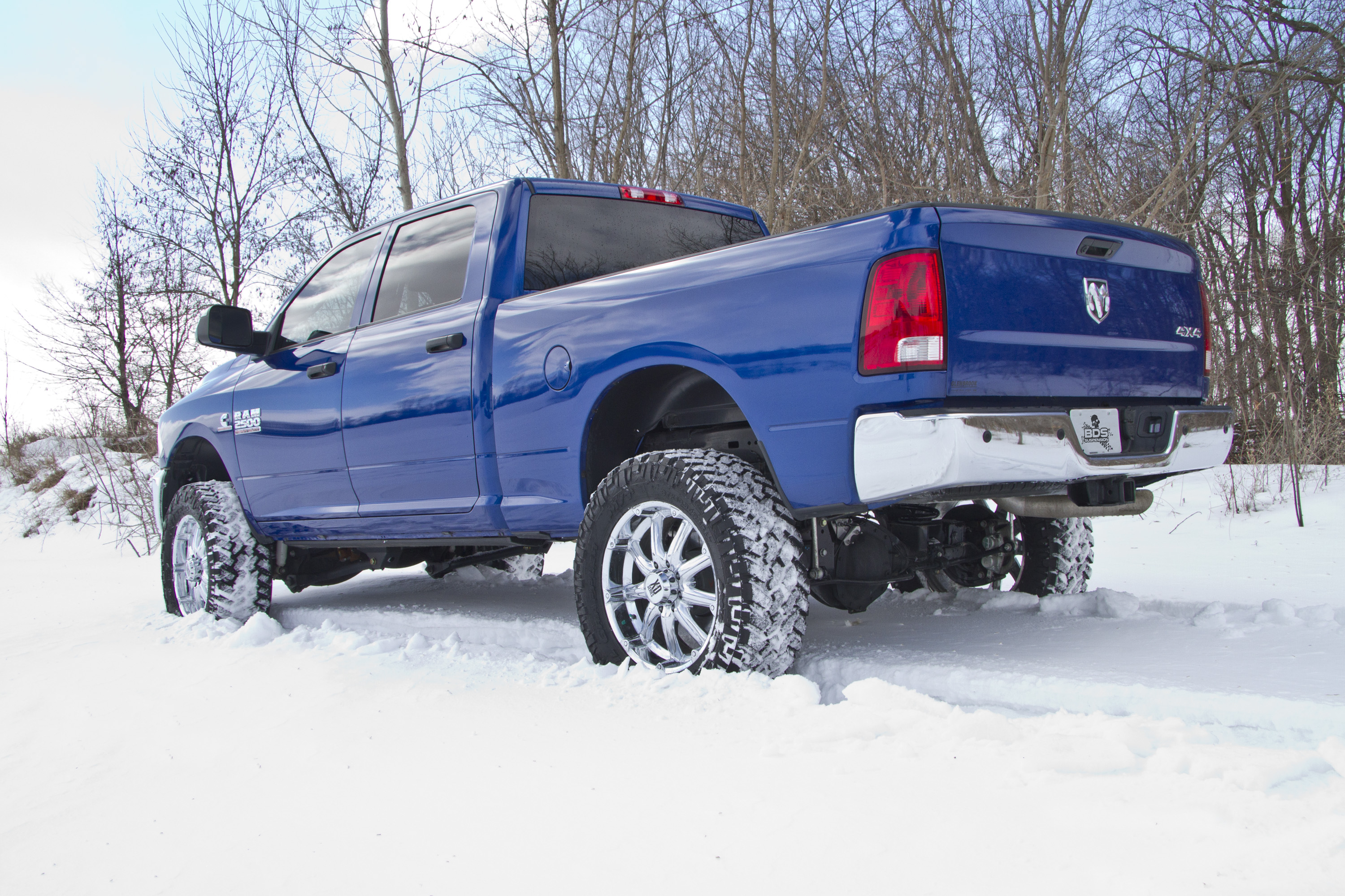 New Product Release #165: 2014 Dodge Ram 2500 4″ 4-Link Conversion ...