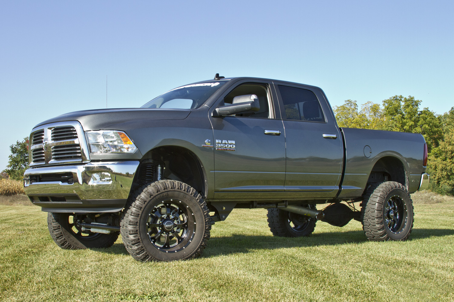 Lifted 2013 *Dodge* *Ram* 2500 SLT 4x4 Diesel Truck w ...