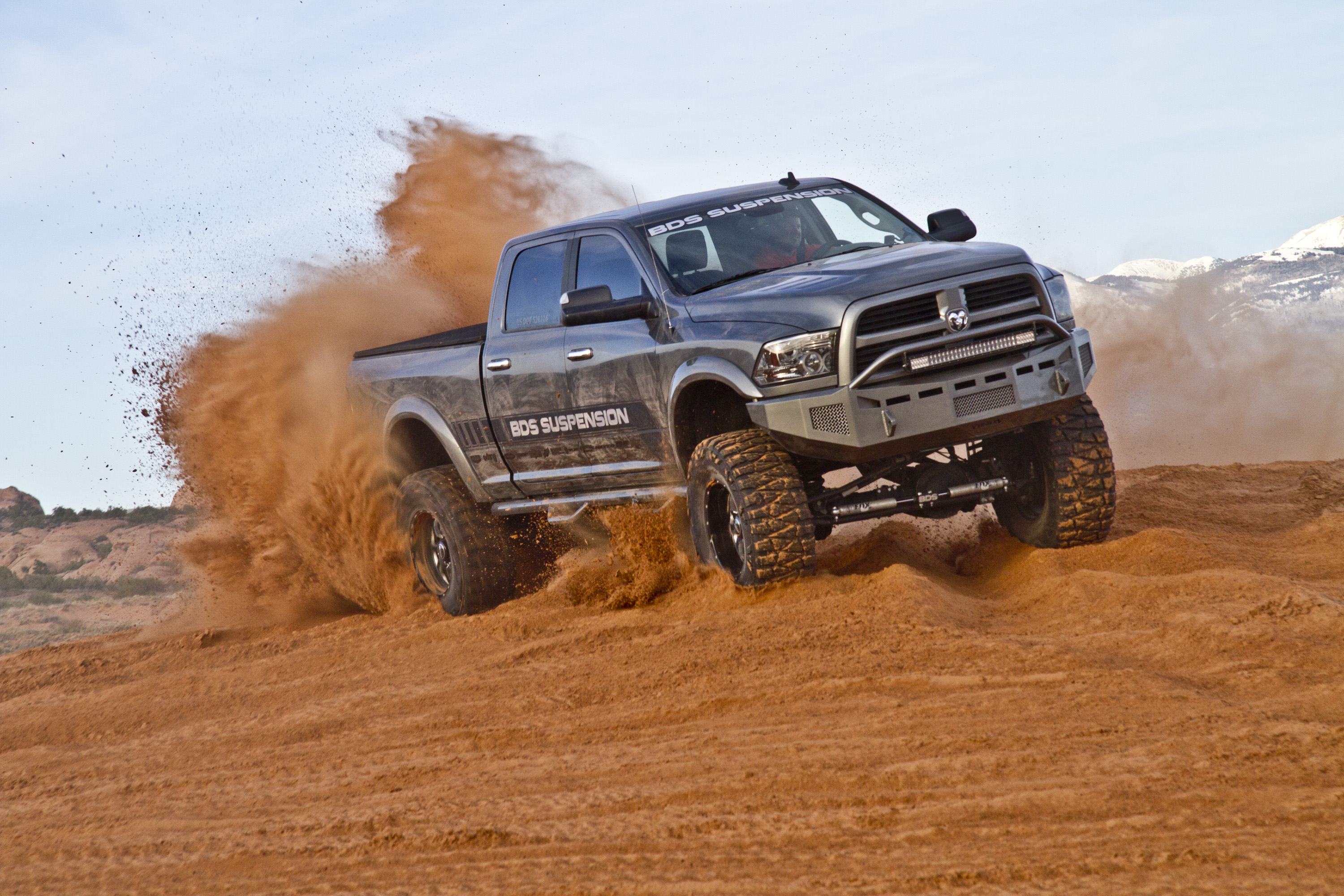 "Dodge Ram 5500 >> 2013-2014 RAM 3500 8"" Long Arm Systems by BDS"