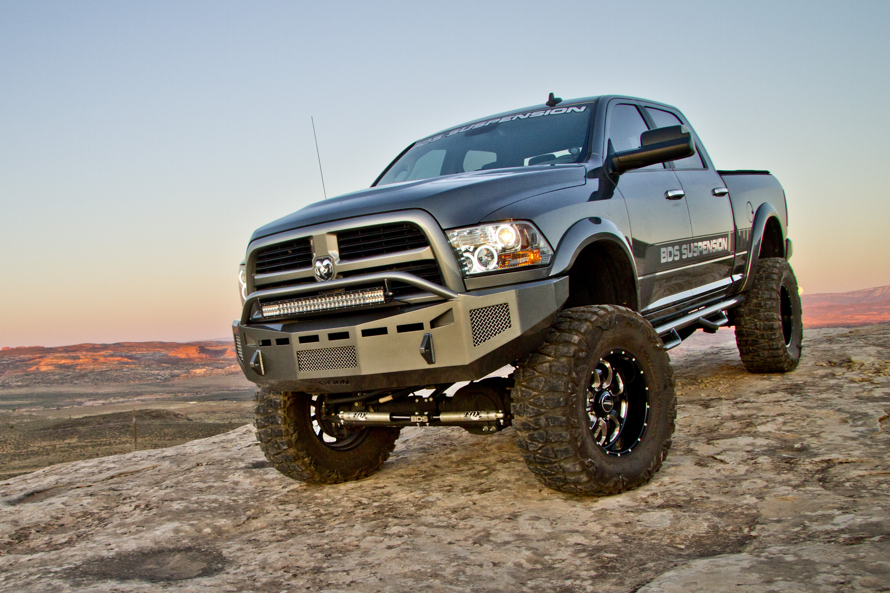 ram 3500 w 8 lift kit on 40s hires image project slate - Dodge Truck 2015 Lifted