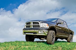 Ram 1500 with BDS 6'' Lift Kit - 37x13.50 M/T ATZ on 18x9 D/C Torque