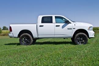 6 Inch Lift Kit For Dodge Ram 1500 4wd >> 2013 2018 Dodge Ram 1500 Pickup W O Air Ride 6 Lift Kit 671h