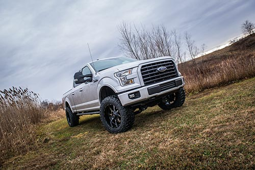 "Ford F150 - BDS 6"" Coilover Lift Kit on 35s"