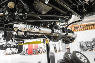 2017 Super Duty - BDS Dual Steering Stabilizer Kit