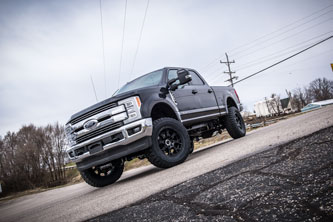 "2017 Ford F250 - 4"" BDS 4-Link Lift Kit"