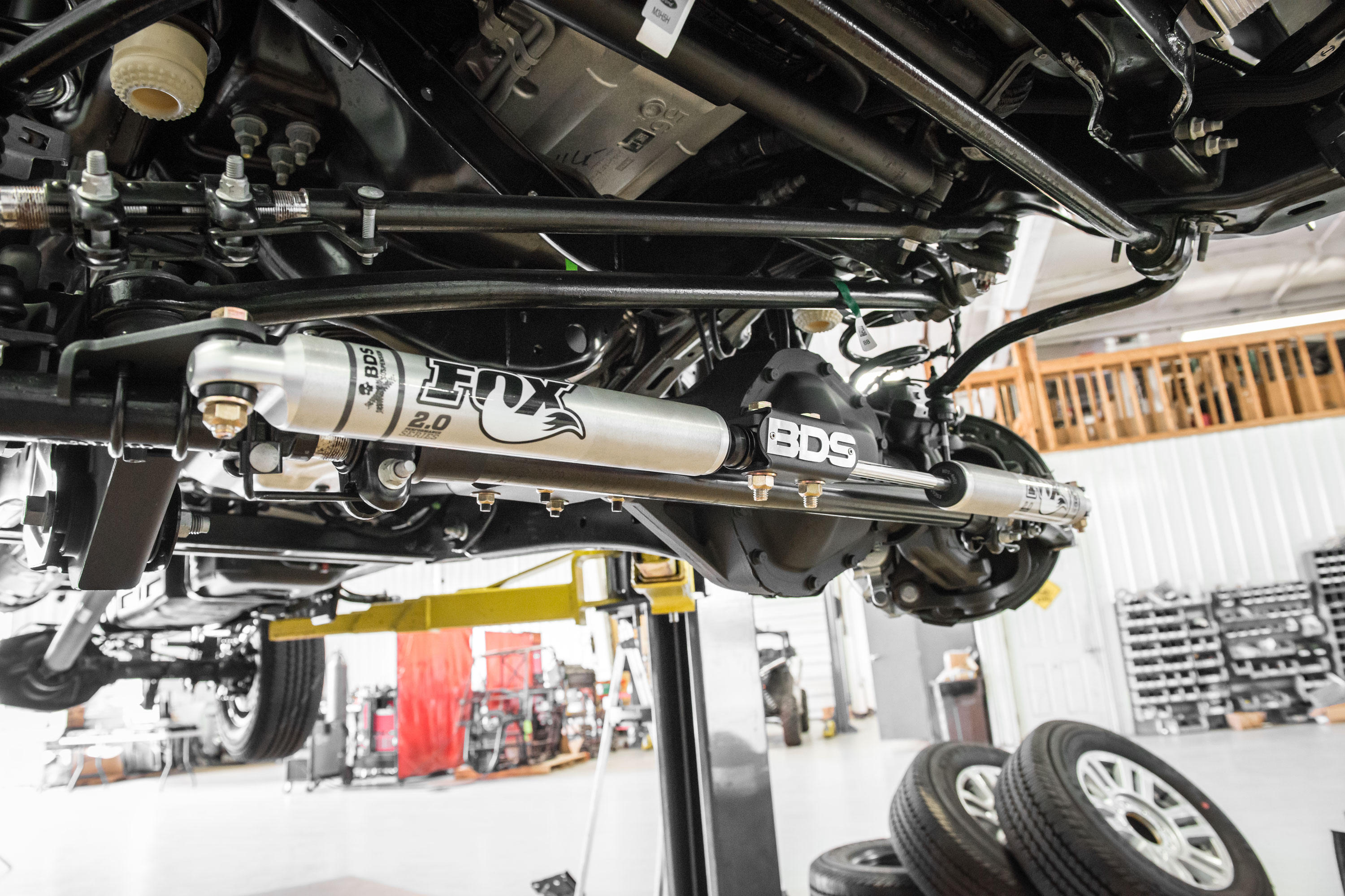Bds New Product Announcement 285 2017 Super Duty Dual Stabilizer. 2017 Super Duty Bds Dual Steering Stabilizer Kit. Ford. Ford Super Duty Parts Diagram Steering Stabalizer Bar At Scoala.co