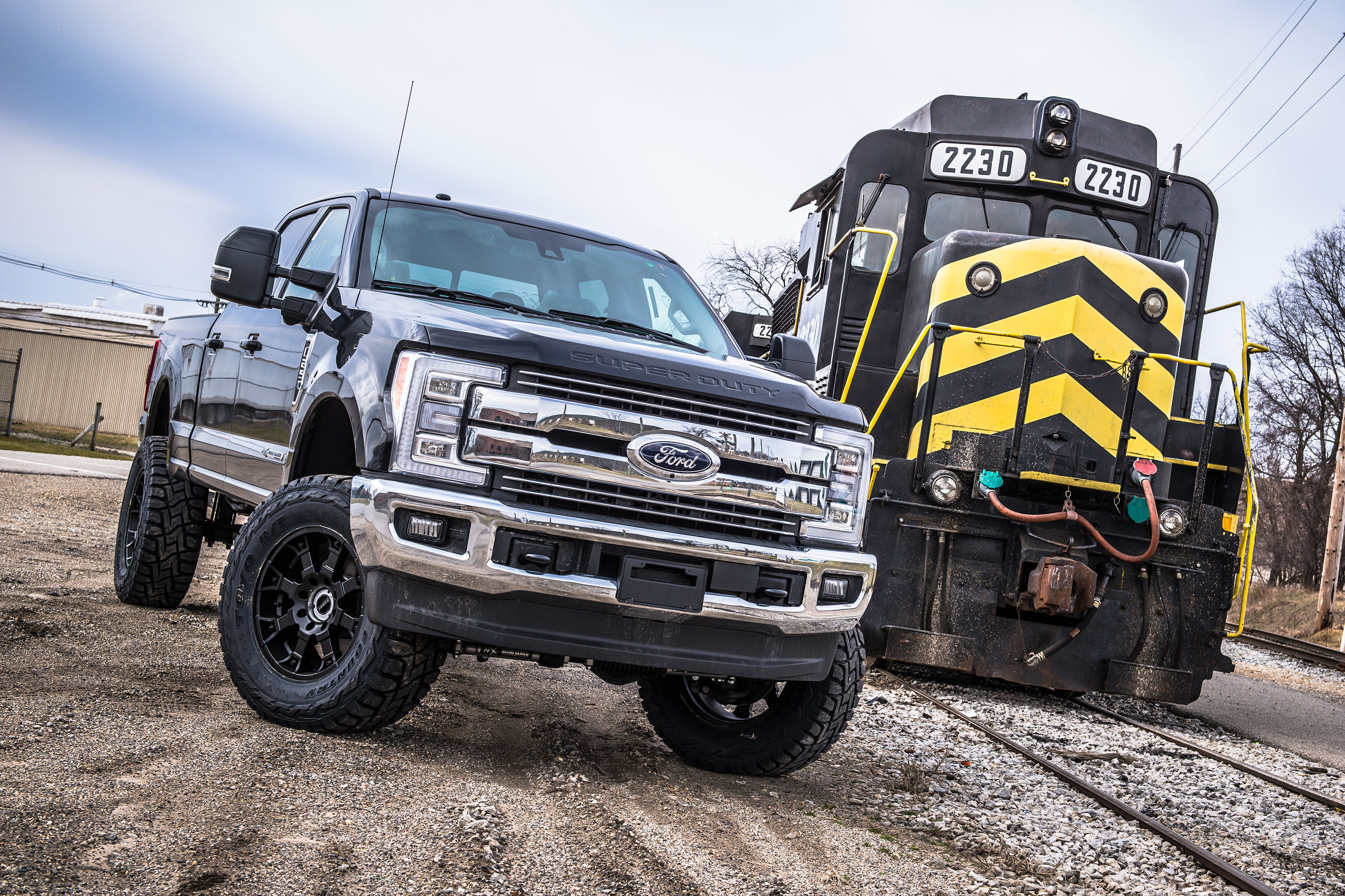 2017 Ford Super Duty W Bds 4 Coilover System
