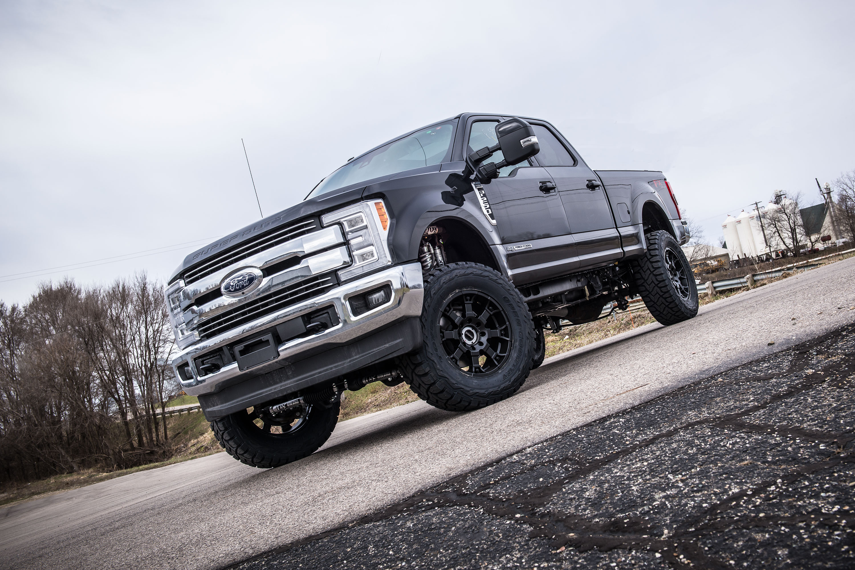 "2017 Ford Super Duty 4"" Radius Arm Lift Kits by BDS Suspension"