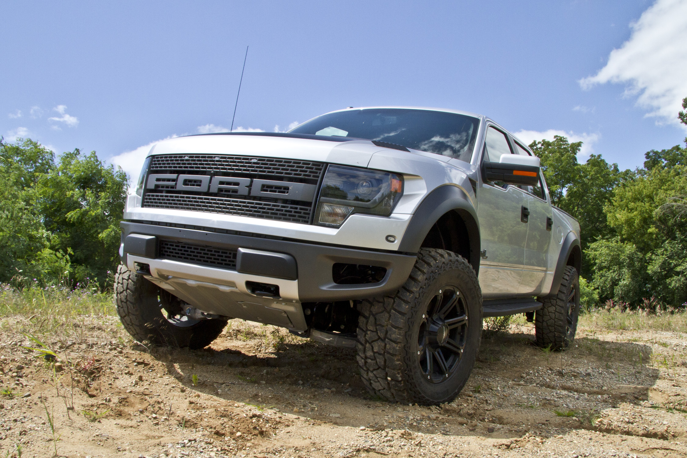 Lifted ford f150 raptor ford raptor w 4 kit view high res image