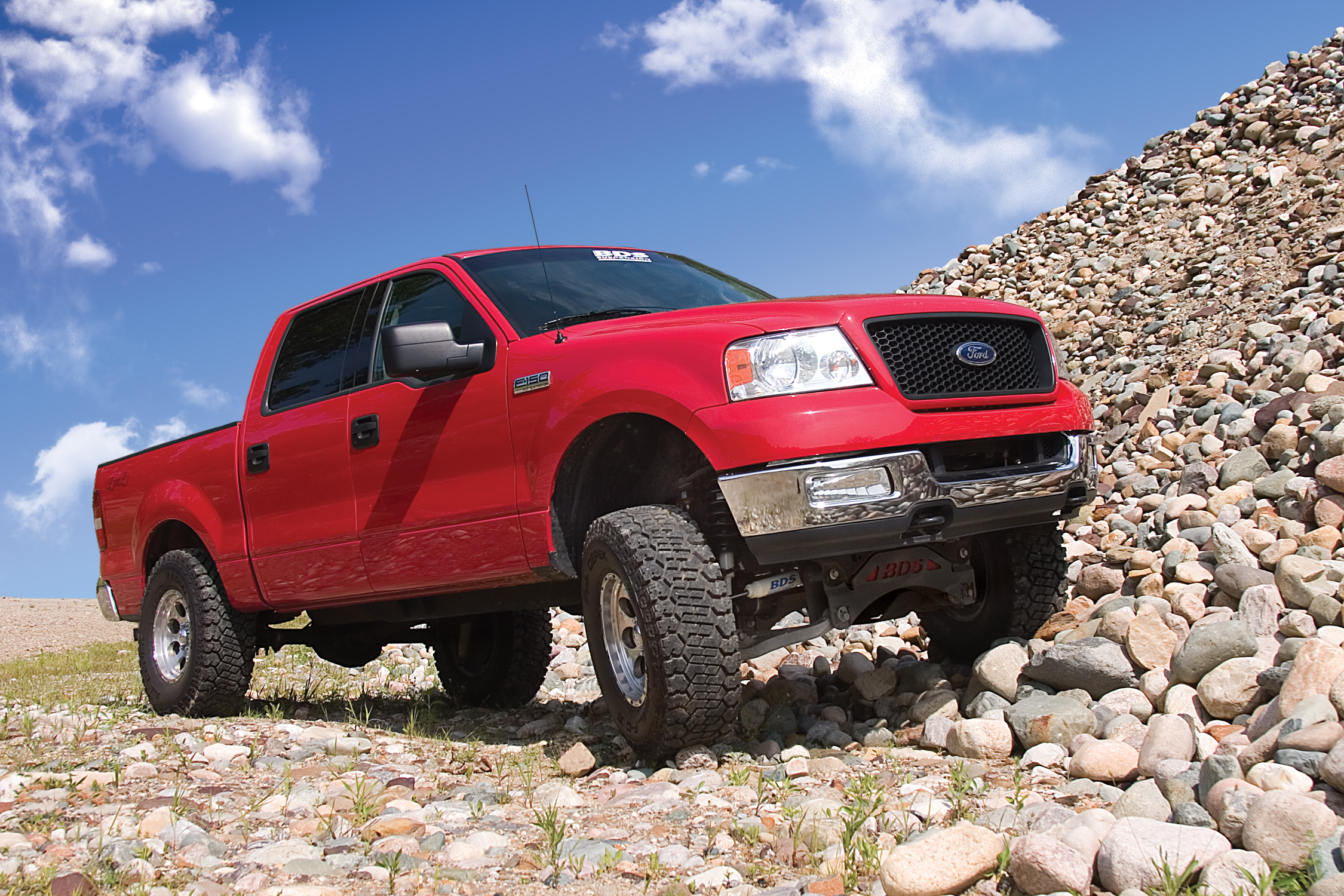 2014 Suspension Lifts ... BDS 6″ and 8″ Suspension Lifts for 2004-2008 Ford F150 4WD Trucks