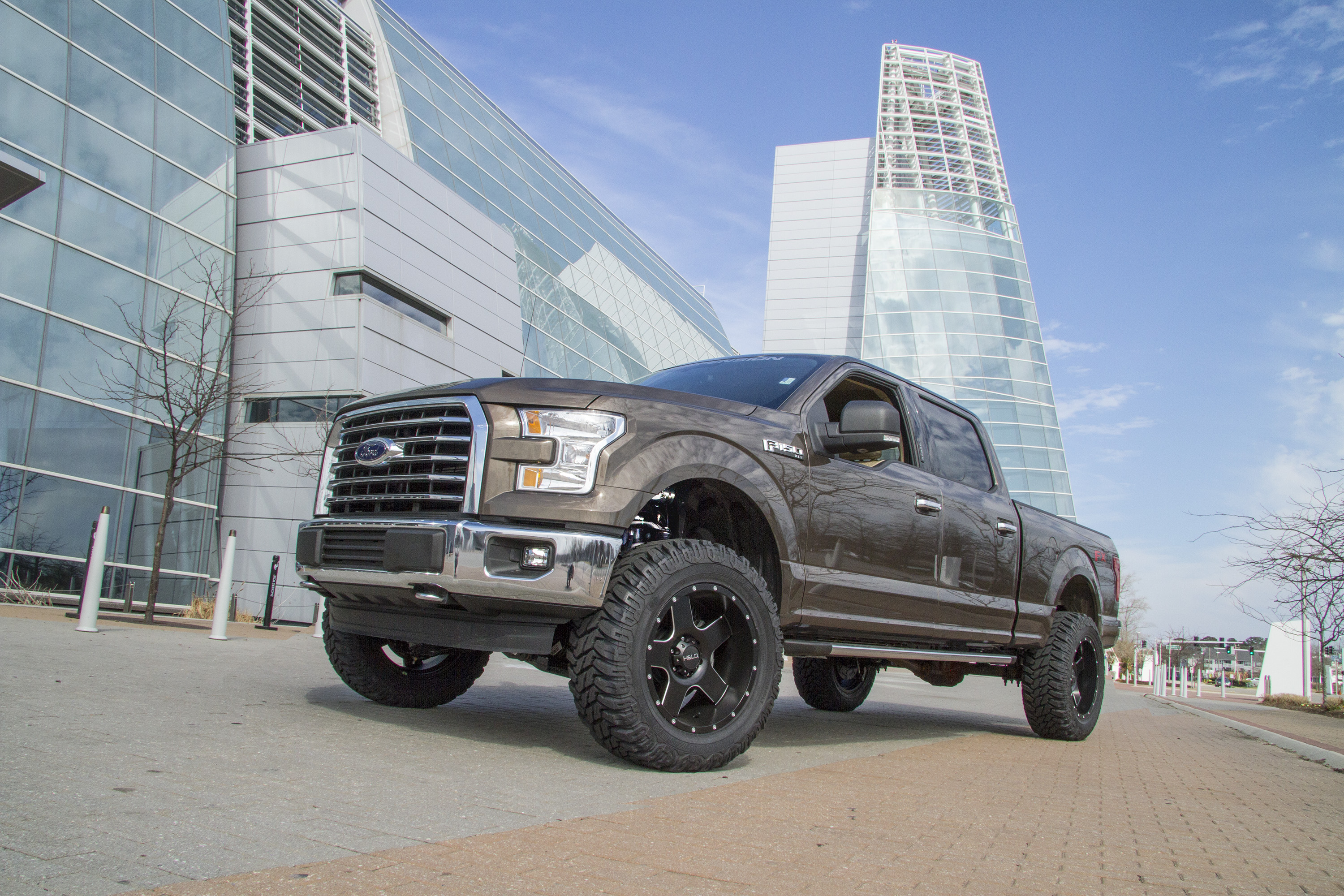"""Lifted 2015 Ford F150 >> BDS New Product Announcement #220: Ford F150 4"""" Coilover Systems 