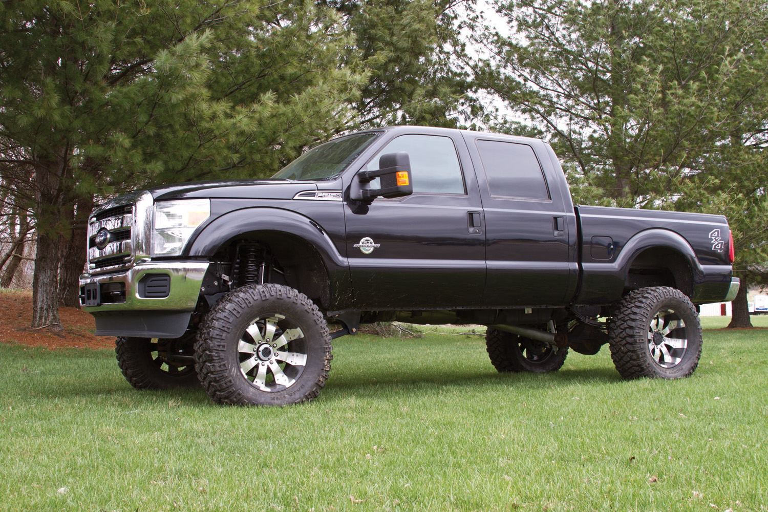 "Ford F150 Factory Rims For Sale PR #123: '11-12 Ford Super Duty 8"" 4-Link Suspension Lift Kit"
