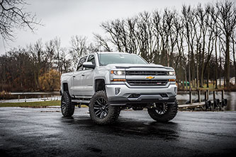 "2018 Chevy 1500 w/ BDS 8"" Lift Kit"