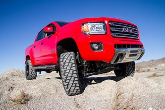 "5.5"" FOX DSC Coilover System - Chevy Colorado and GMC Canyon"