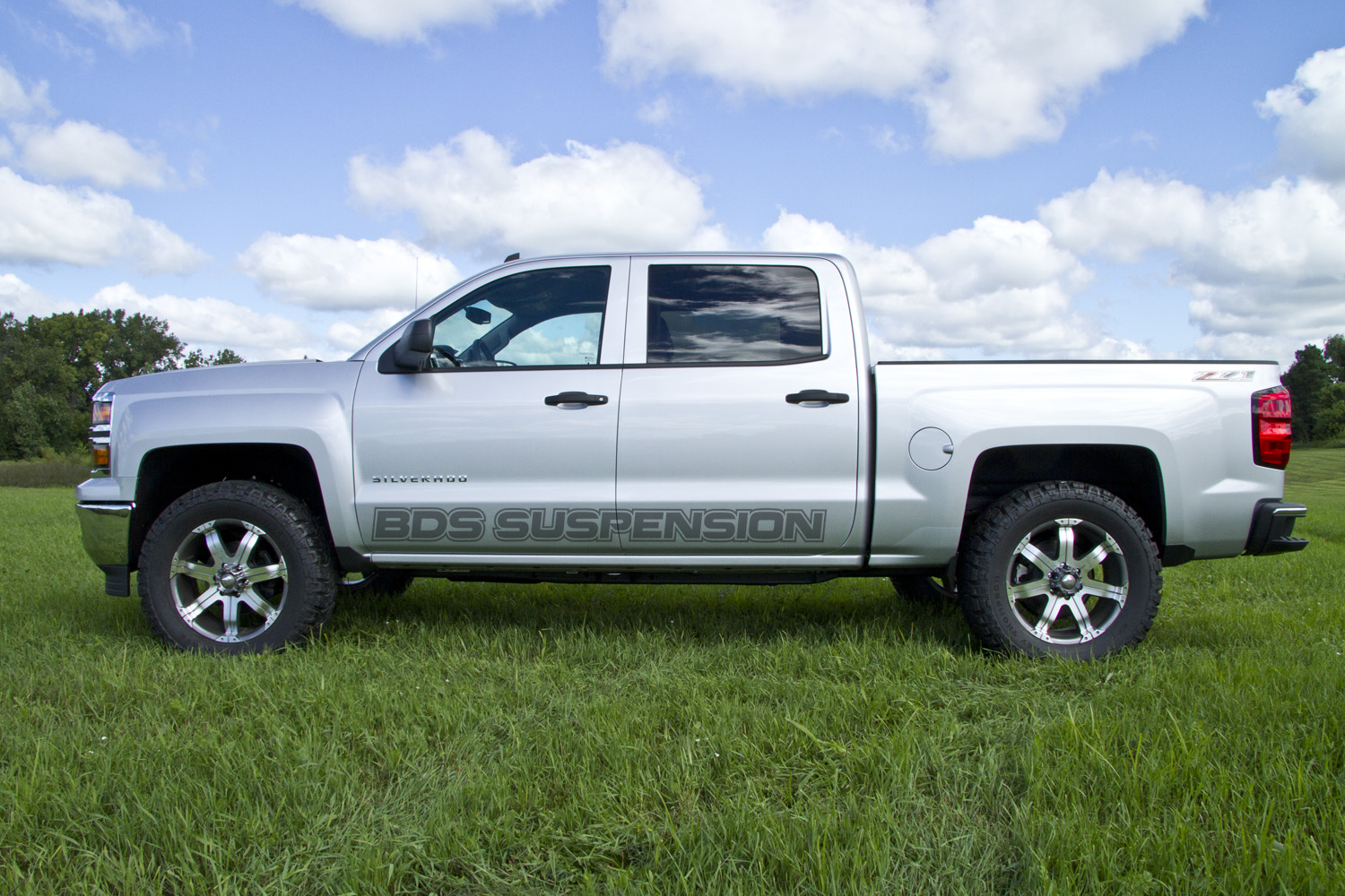 Chevy 1500 with leveling kit