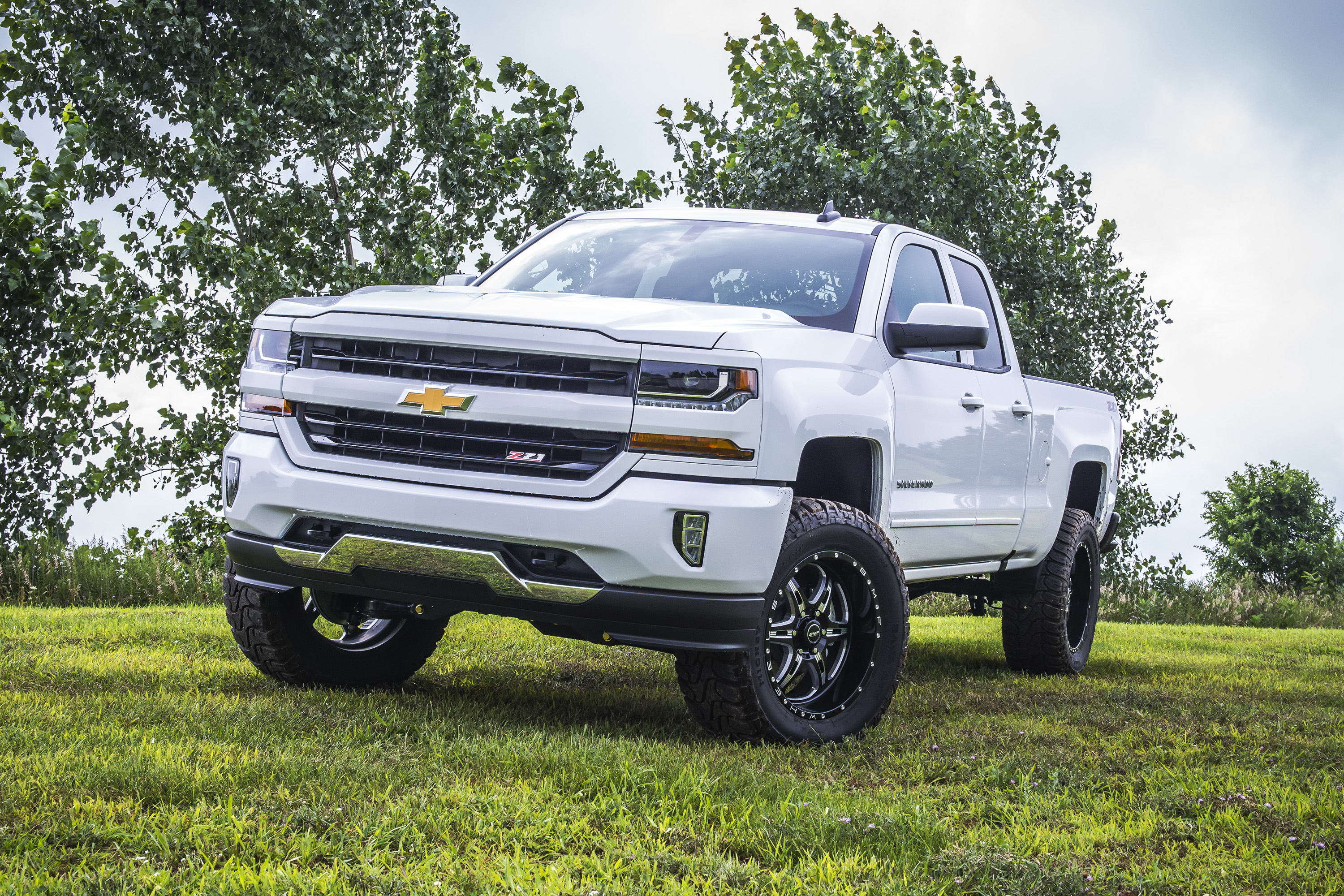 2017 Chevy 1500 W Bds 4 Coilover System