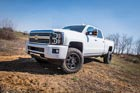 "2016 Chevy Silverado HD w/ 2.5"" Coilover Conversion"