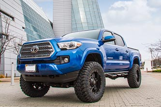 "2016 Toyota Tacoma with BDS 6"" Suspension System"