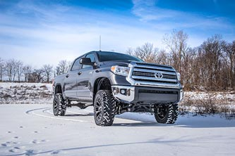 "Toyota Tundra with BDS 7"" Suspension System"