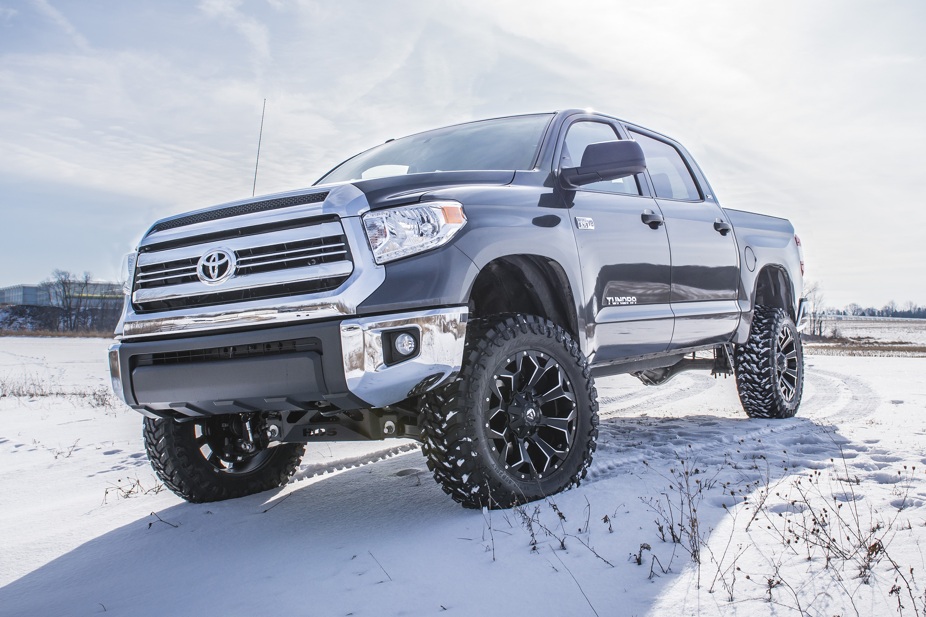 Toyota Tundra With Bds 4 5 Coilover System