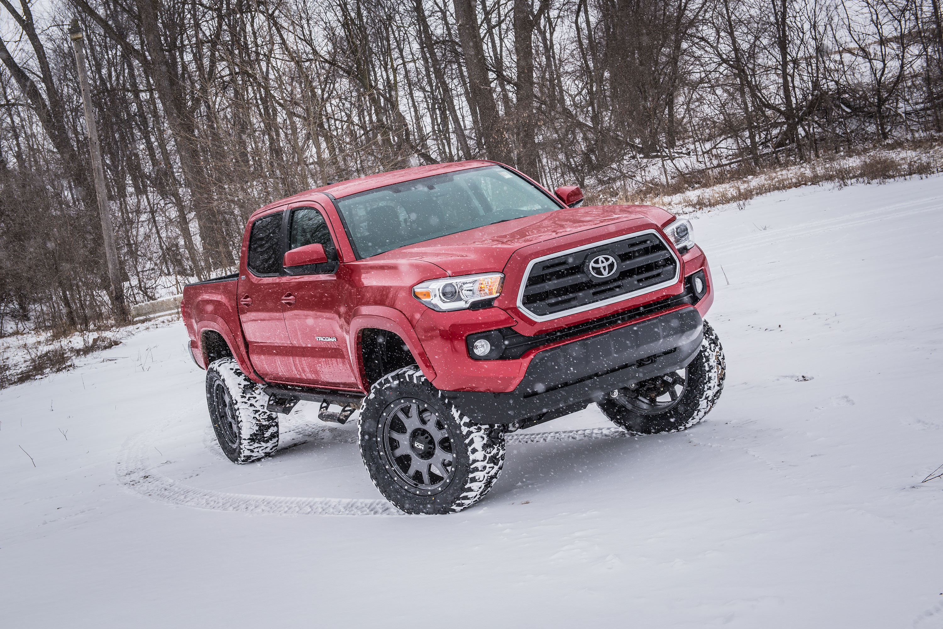 Toyota Tacoma With Bds 6 Suspension System