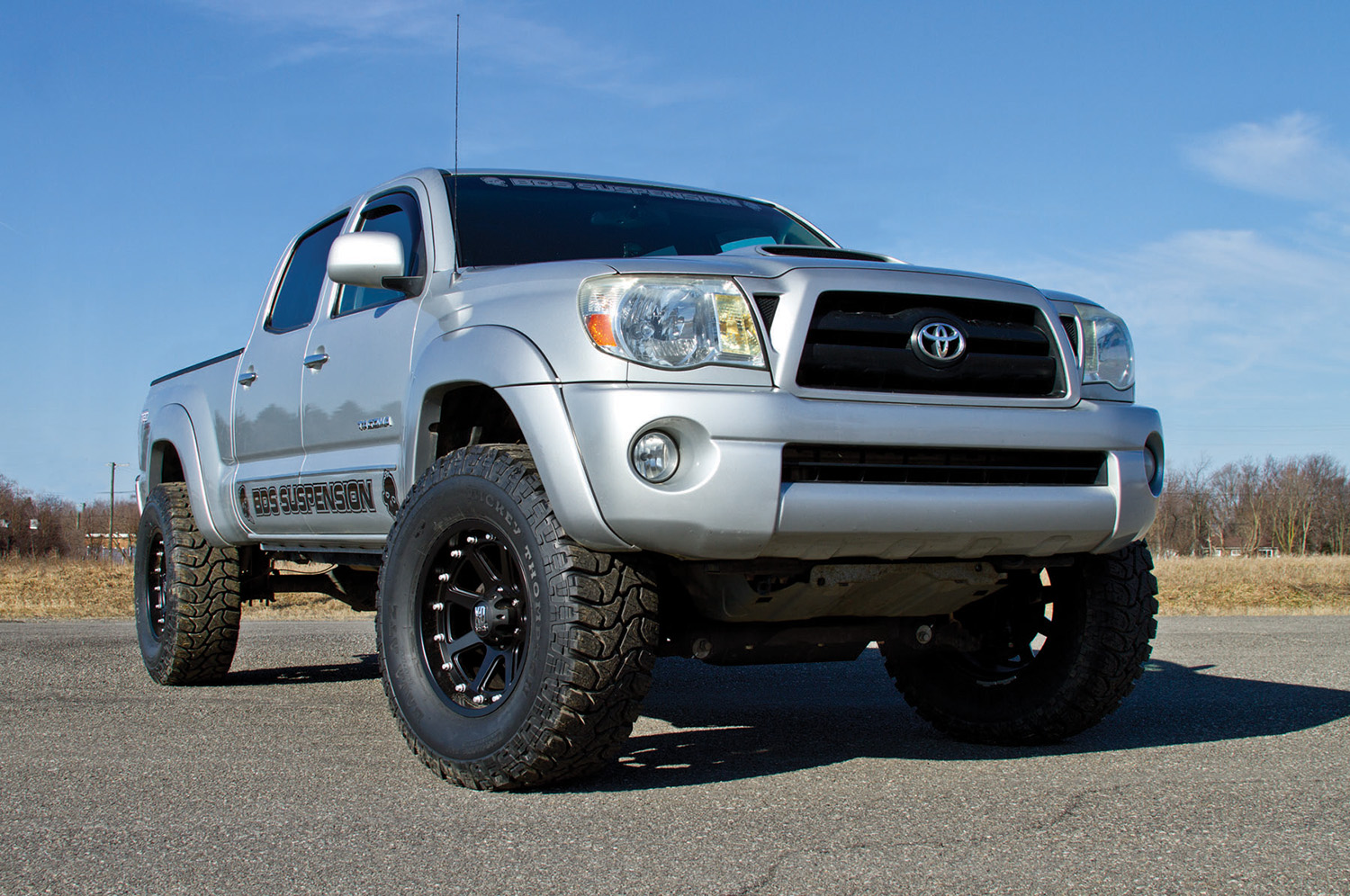 "press release #119 - 2005-2012 toyota tacoma 4"" lift kit 