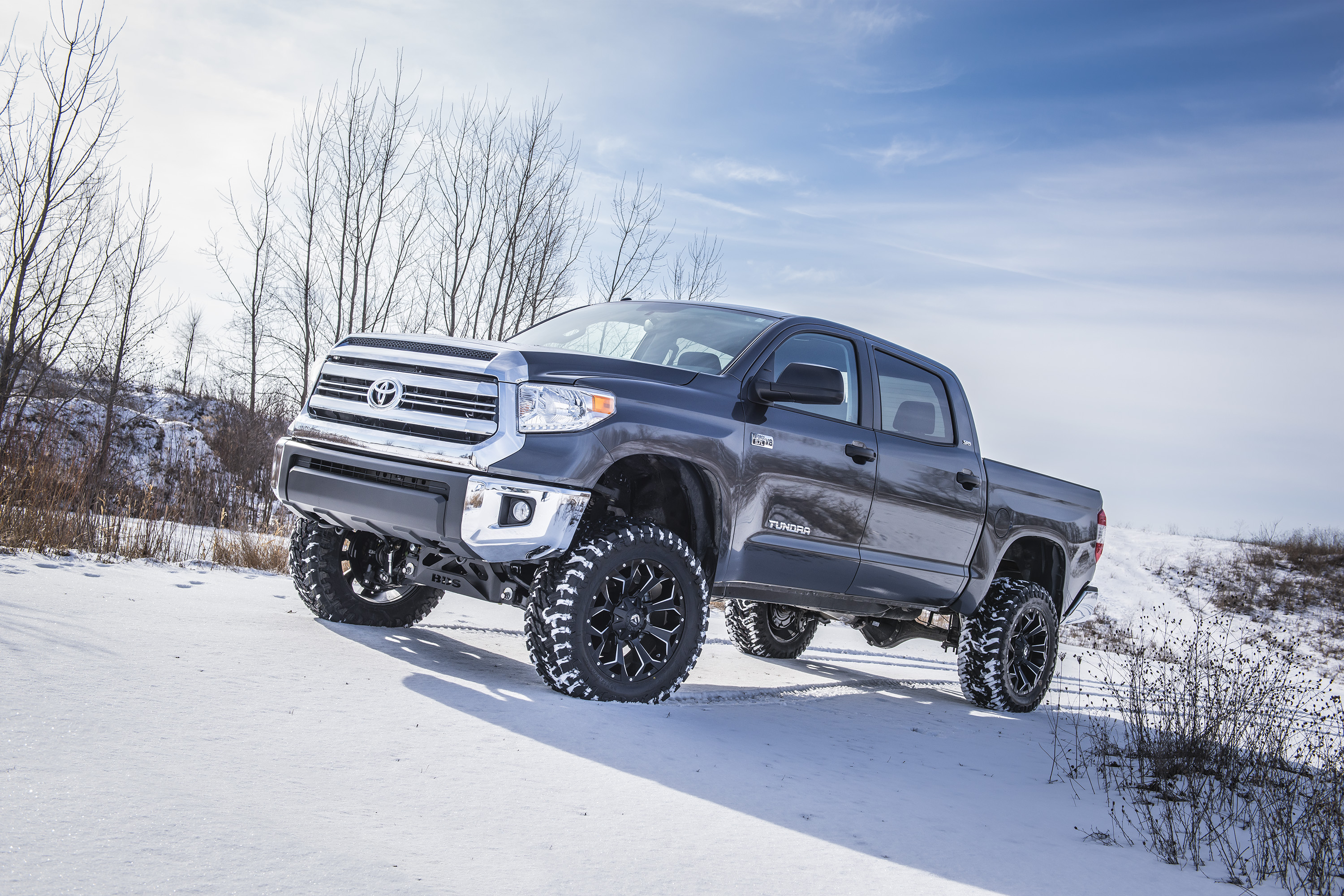 Toyota Tundra With Bds 7 Suspension System