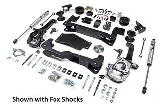 "4"" Air Ride Lift Kit - RAM Rebel"