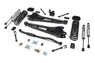 3'' Radius Arm System for RAM 2500