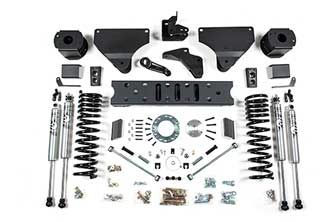 "BDS 5.5"" Radius Arm Drop Kit for RAM 2500 Gas Trucks w/ rear Air Ride"