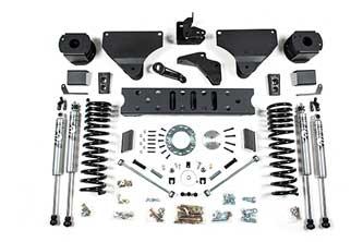 "BDS 5.5"" Radius Arm Drop Kit for RAM 2500 Gas Trucks w/ rear Air Ride"