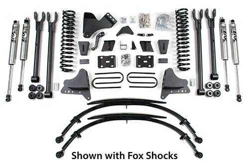 "8"" 4-Link Lift Kit - Ford F250/F350 4WD"