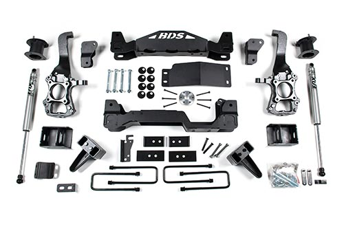 "4"" Suspension System 
