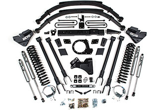 "2017 Ford F250 - 8"" BDS 4-Link Lift Kit"