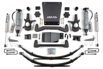 Coil-Over System | 177F (Shown w/ Optional Rear Springs) Shocks shown may differ from base kit.