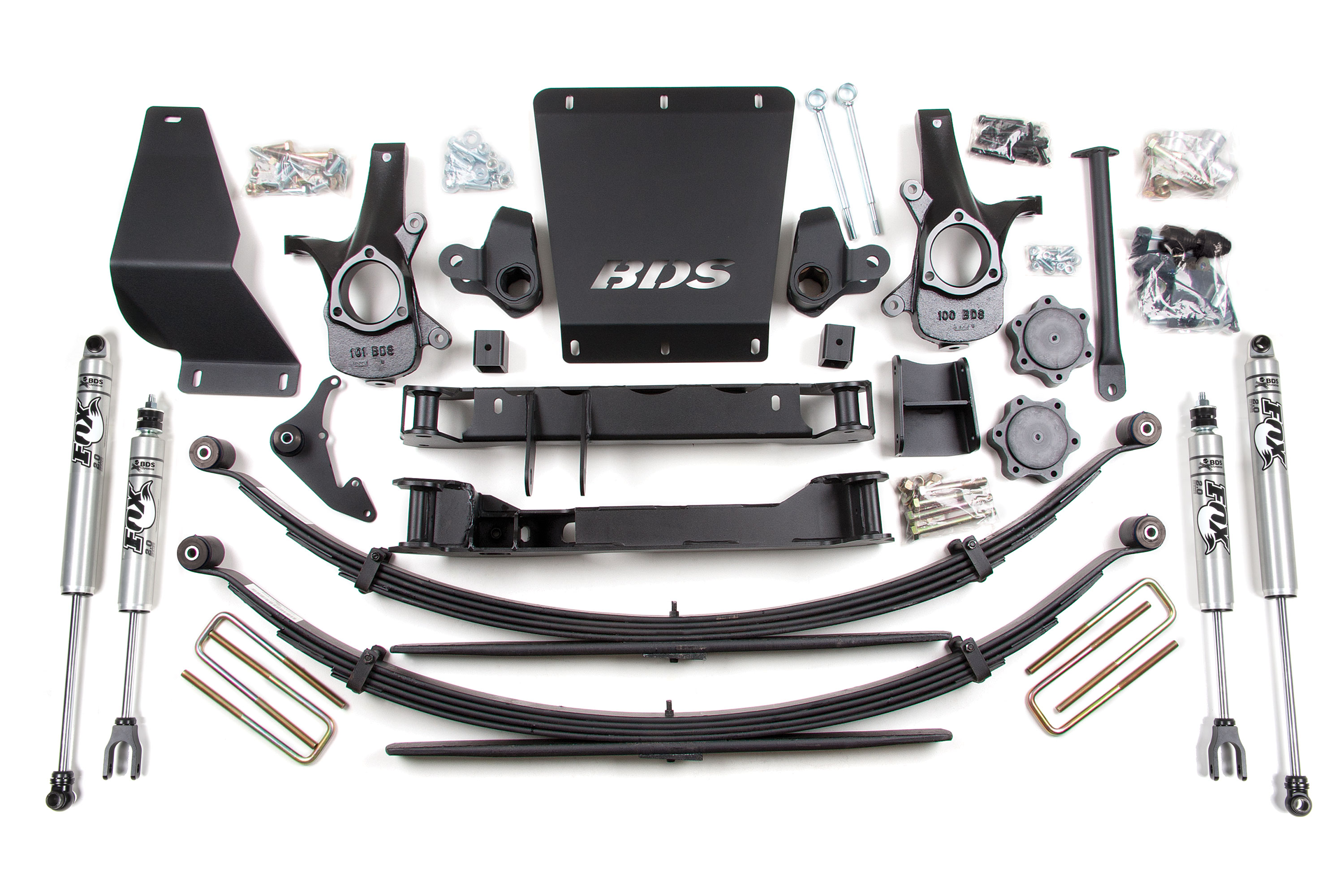 6 5 Lift Kit 1999 2006 Chevy Gmc 1 2 Ton Truck 4wd K1500 179h Bds Suspension