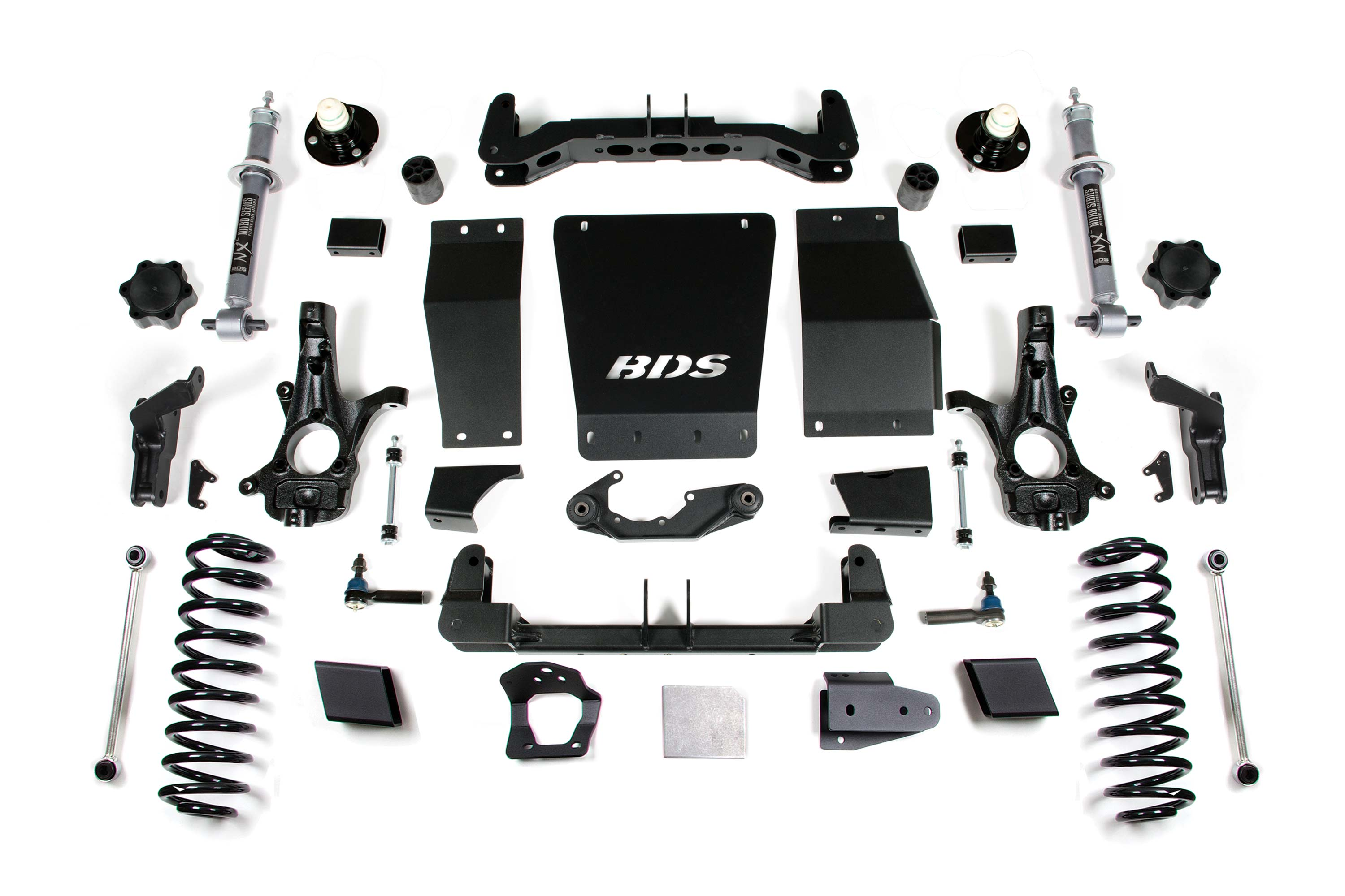 6 Lift Kit 2015 2019 Chevy Gmc Yukon Xl 1 2 Ton 4wd 737h Bds Suspension